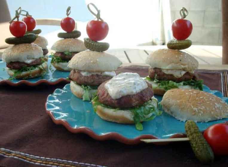 Cajun Turkey Sliders with Horseradish & Scallion Rémoulade